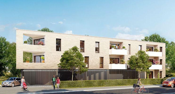 Photo n°1 du Résidence « Le Marn 96 Av. » programme immobilier neuf en Loi Pinel à Mérignac