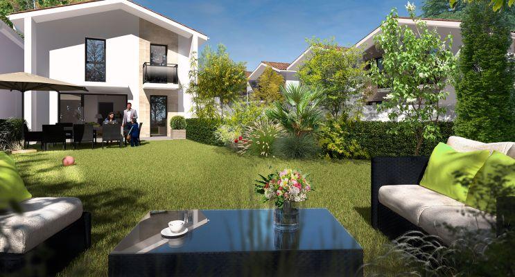 Mérignac : programme immobilier neuf « Le Square de Charles »