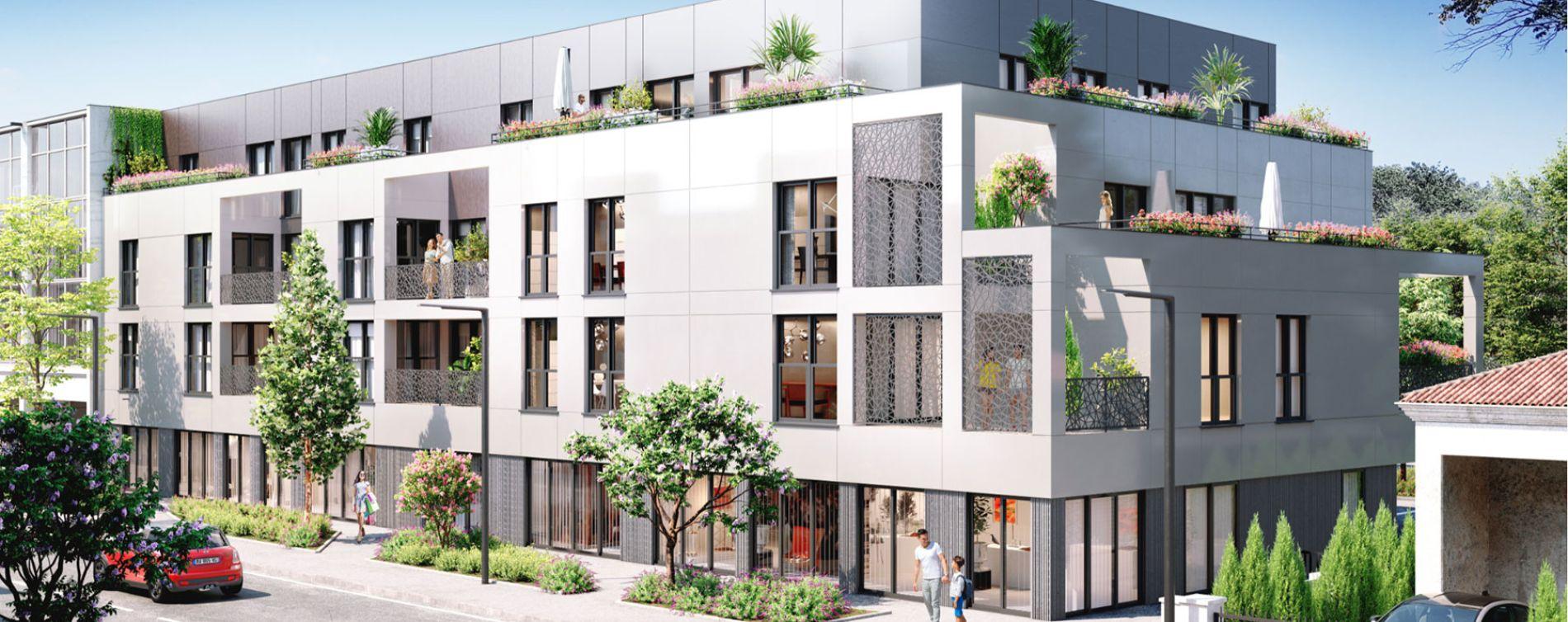 Mérignac : programme immobilier neuve « L'Empreinte »
