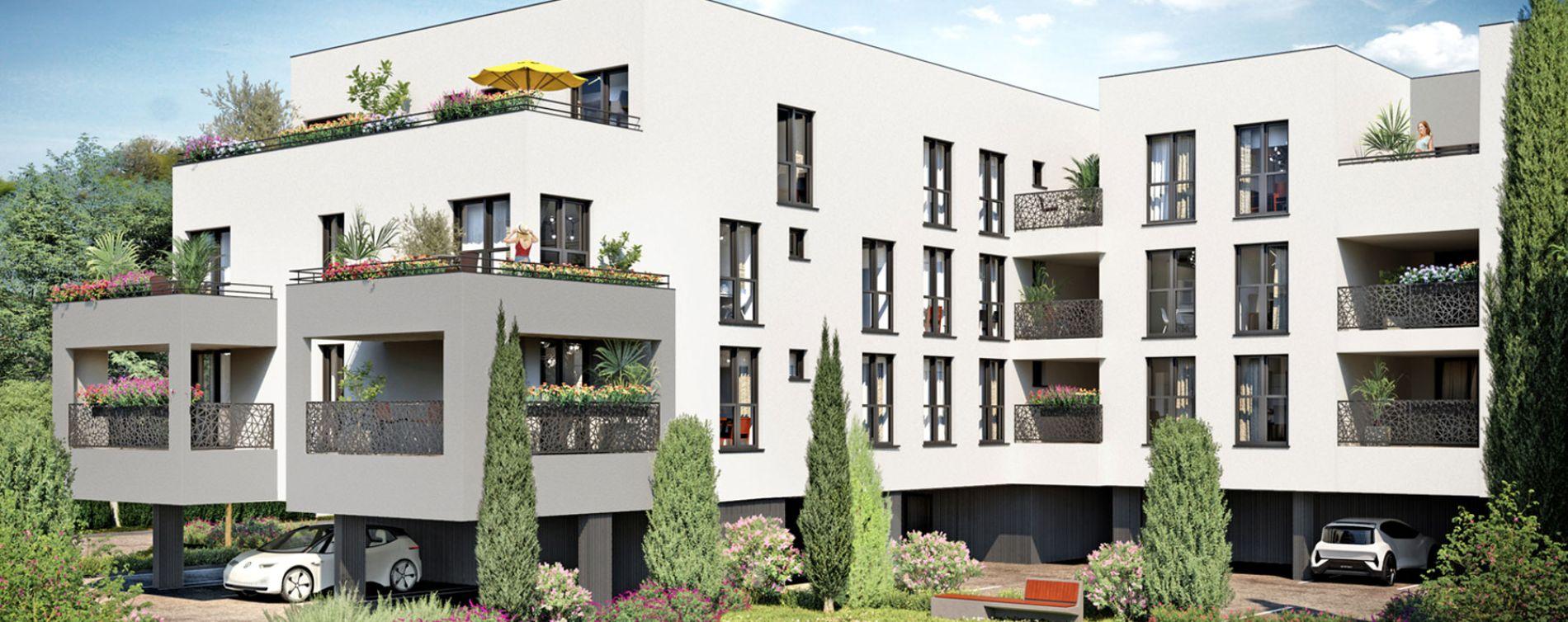 Mérignac : programme immobilier neuve « L'Empreinte » (2)
