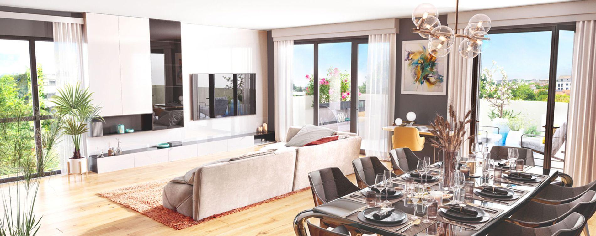 Mérignac : programme immobilier neuve « L'Empreinte » (3)
