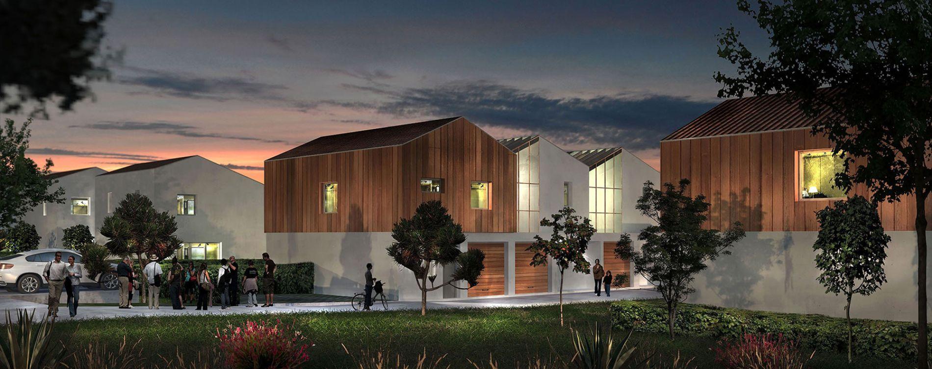 Mérignac : programme immobilier neuve « Les Ateliers d'Iris » en Loi Pinel (2)