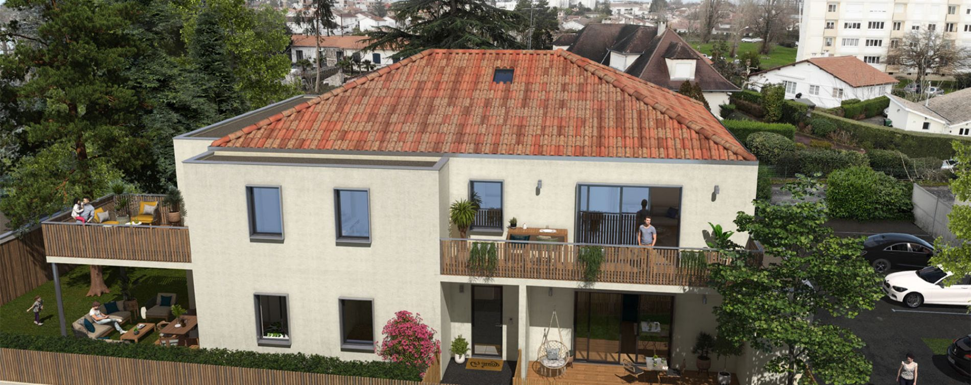 Résidence Les Camélias à Mérignac