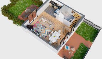 Mérignac programme immobilier neuve « Les Villas de l'Europe »  (4)