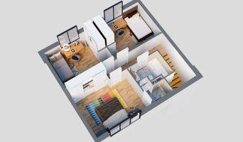 Mérignac programme immobilier neuve « Les Villas de l'Europe »  (5)