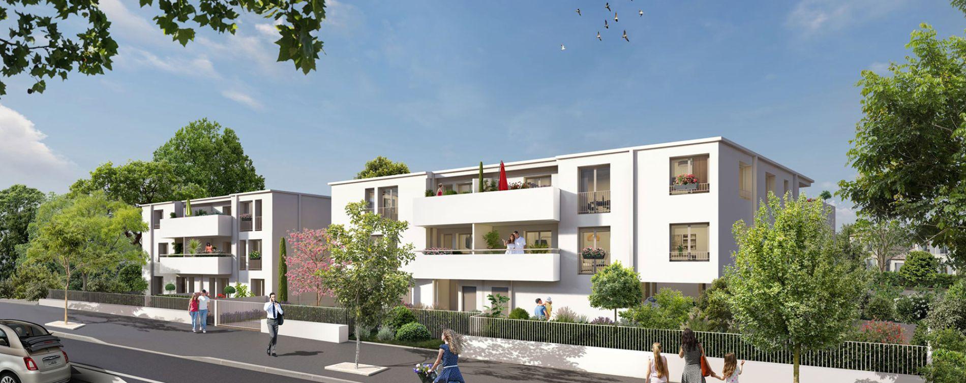 Mérignac : programme immobilier neuve « L'Orée Saint Augustin » en Loi Pinel (2)