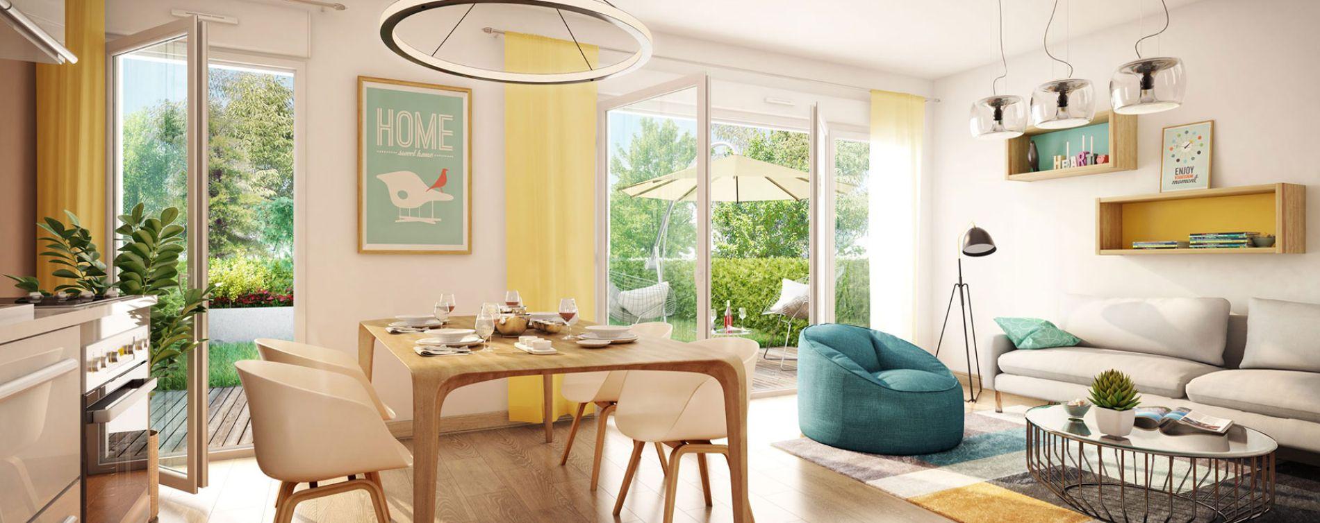 Mérignac : programme immobilier neuve « L'Orée Saint Augustin » en Loi Pinel (3)