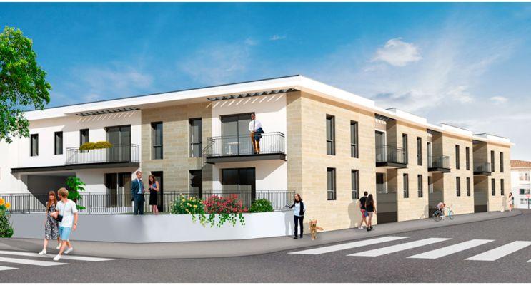 Résidence « Villa Alba » programme immobilier neuf en Loi Pinel à Mérignac n°1