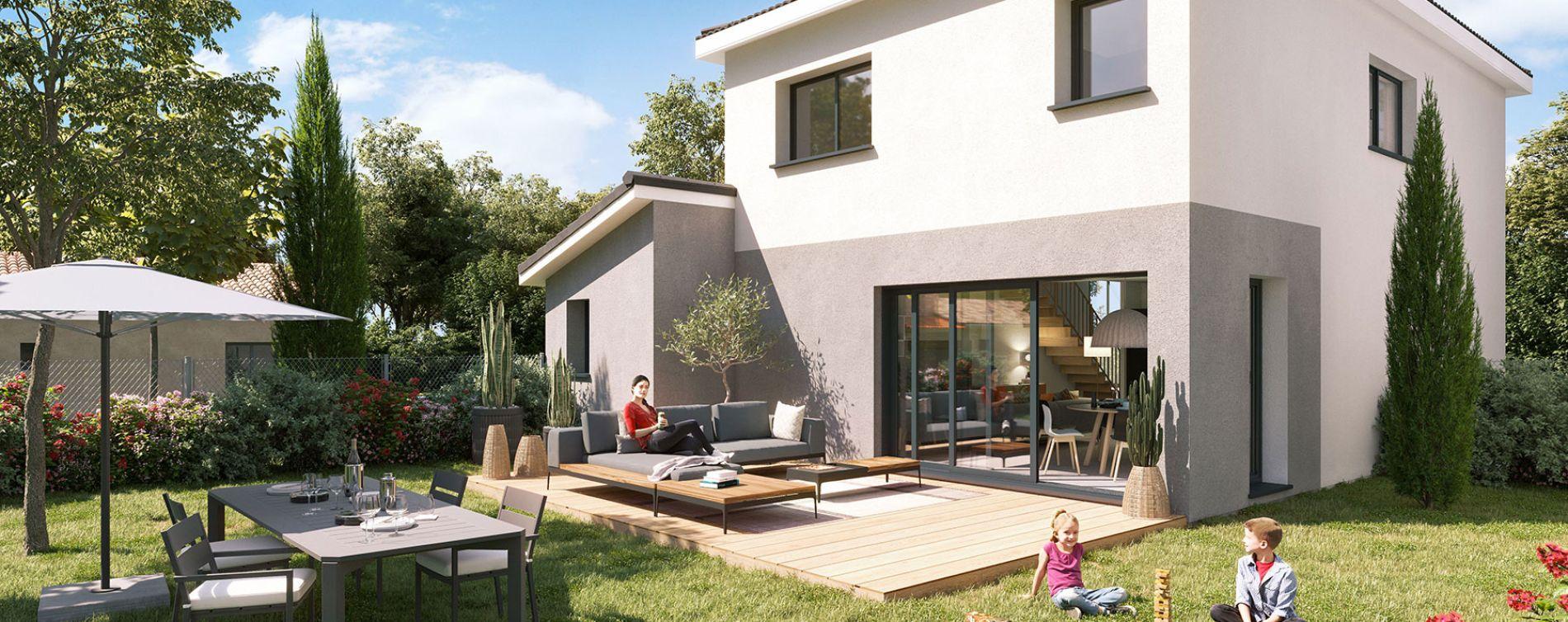 Mérignac : programme immobilier neuve « Villas 56 »