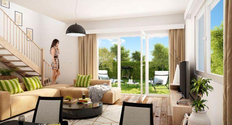Résidence « Villas Ontines » programme immobilier neuf en Loi Pinel à Mérignac n°2
