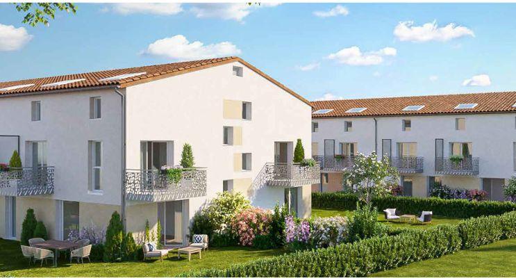 Montussan : programme immobilier neuf « Le Domaine de Lalande » en Loi Pinel