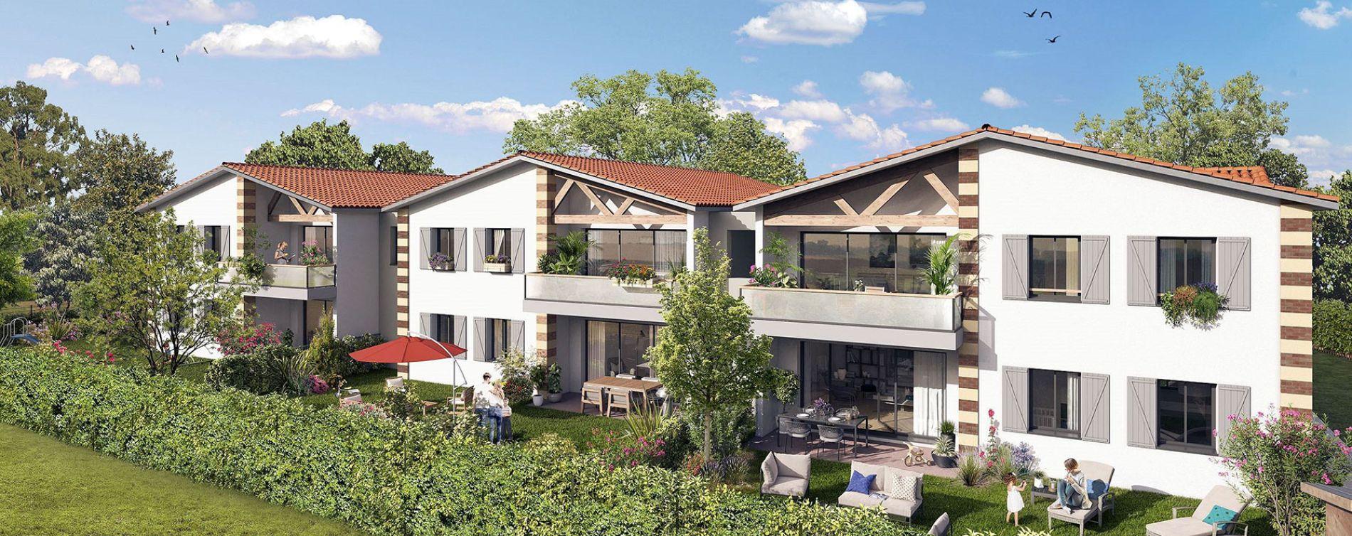 Parempuyre : programme immobilier neuve « Le Clos Mademoiselle » en Loi Pinel