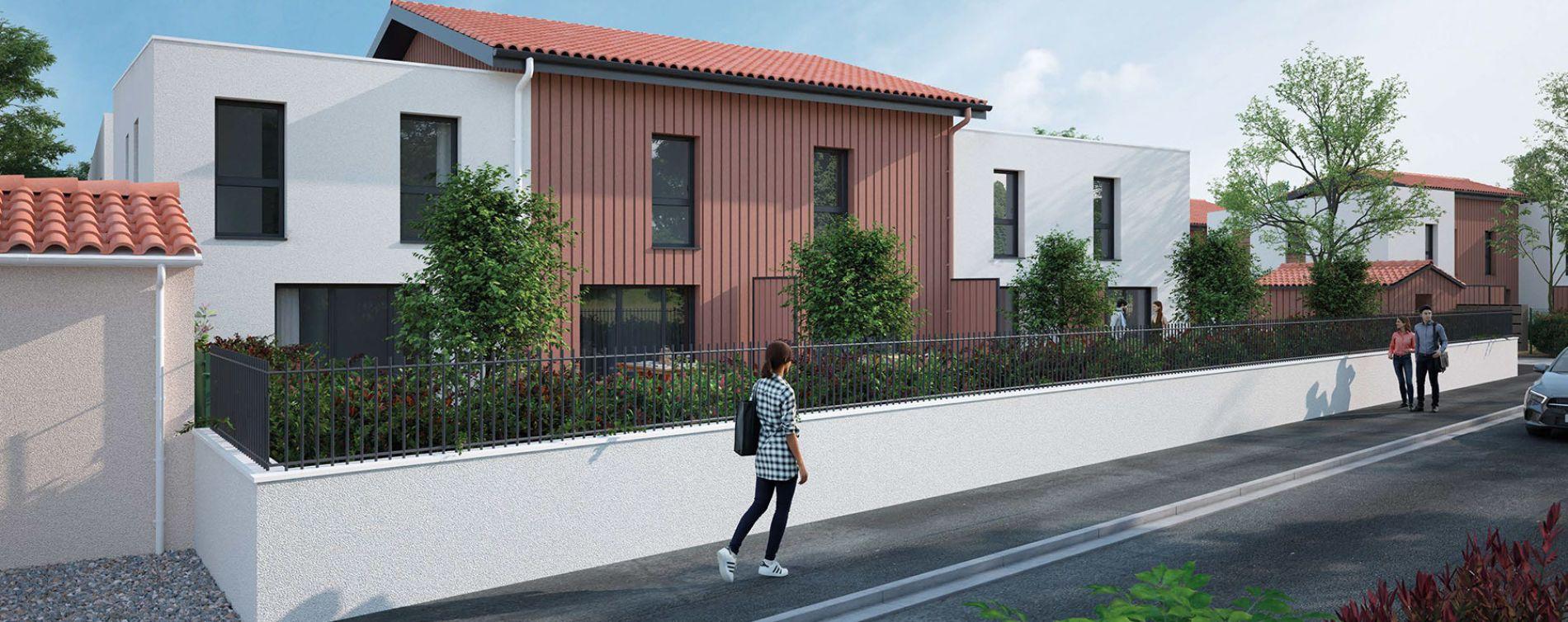 Parempuyre : programme immobilier neuve « Les Villas Pourpres 2 »