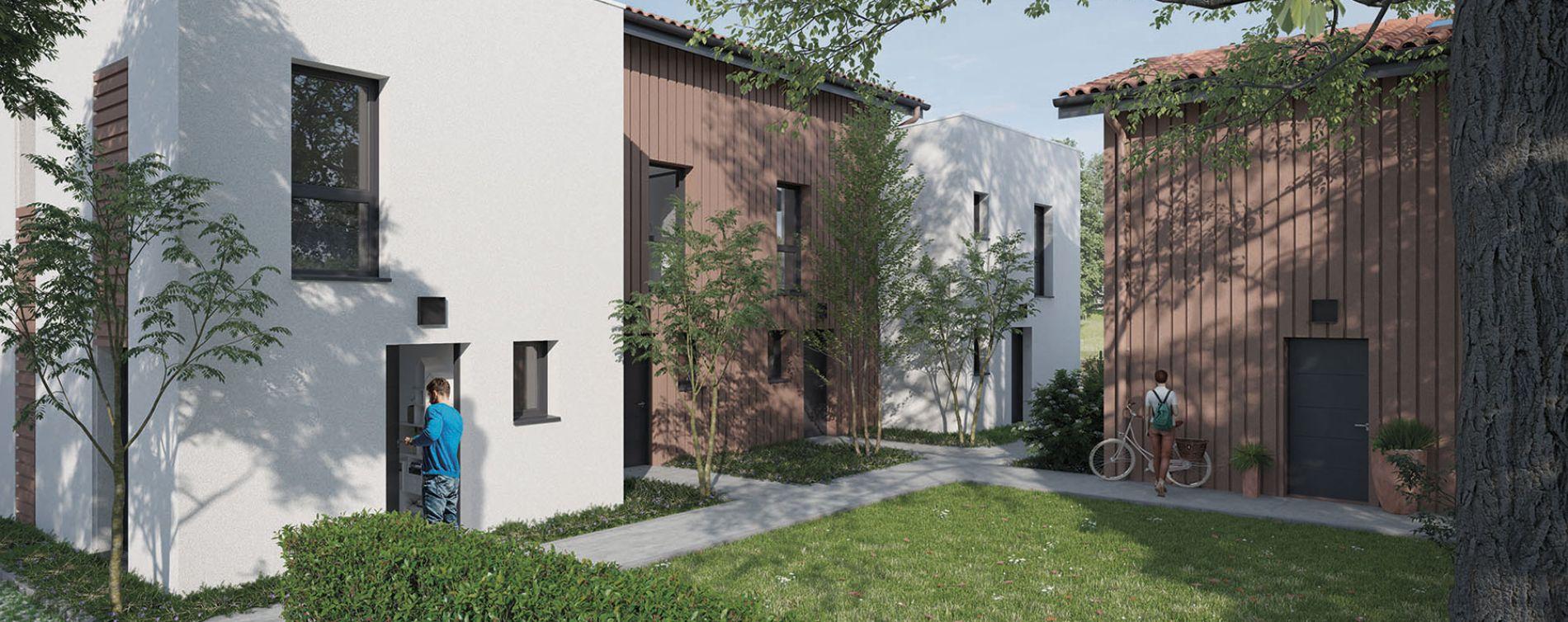 Parempuyre : programme immobilier neuve « Les Villas Pourpres 2 » (2)