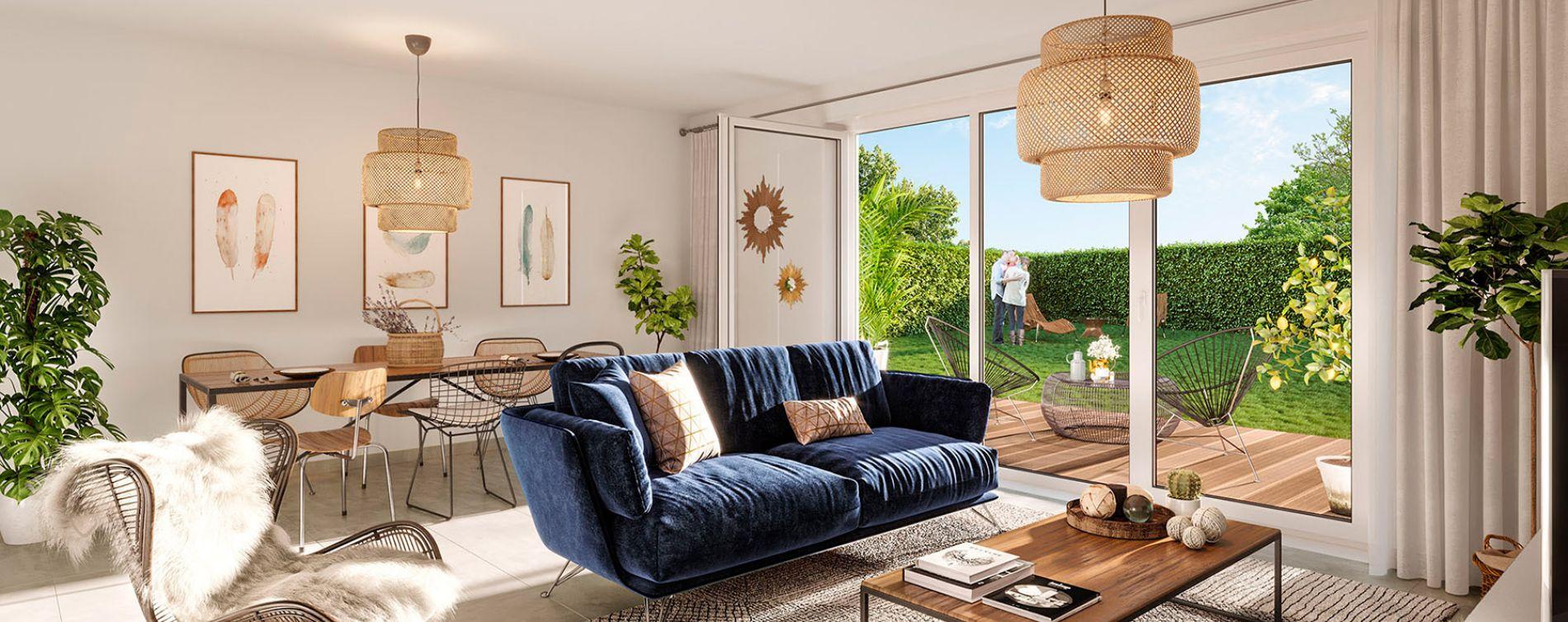 Parempuyre : programme immobilier neuve « Les Villas Pourpres 2 » (4)