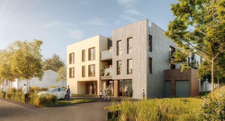 Résidence « Acanthe » programme immobilier neuf en Loi Pinel à Pessac n°1