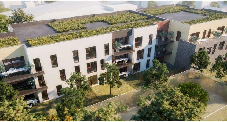 Résidence « Acanthe » programme immobilier neuf en Loi Pinel à Pessac n°3