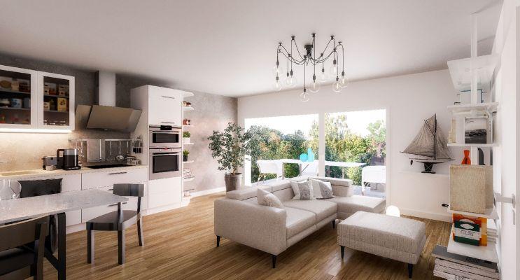 Résidence « Acanthe » programme immobilier neuf en Loi Pinel à Pessac n°5
