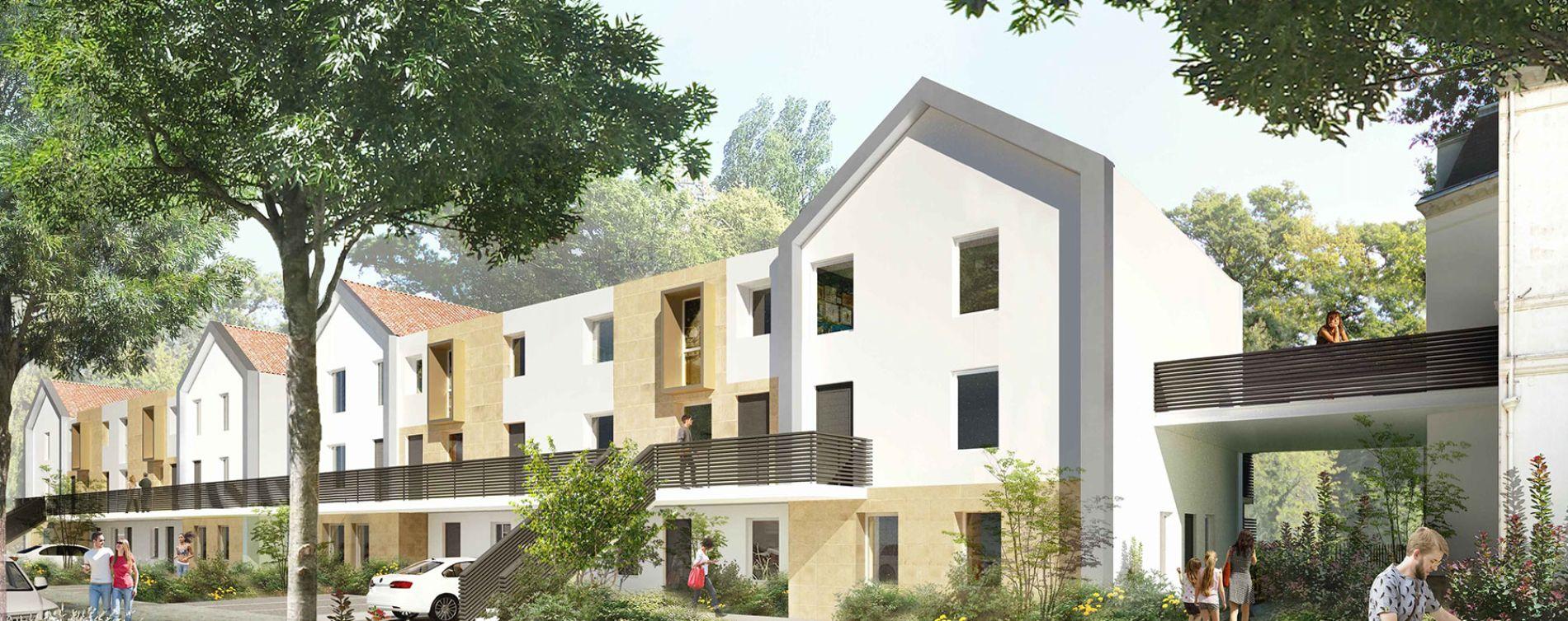 Pessac : programme immobilier neuve « Chartreuse François-Armand » en Loi Pinel