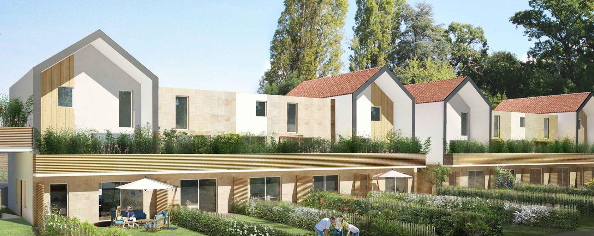 Pessac : programme immobilier neuve « Chartreuse François-Armand » en Loi Pinel (2)