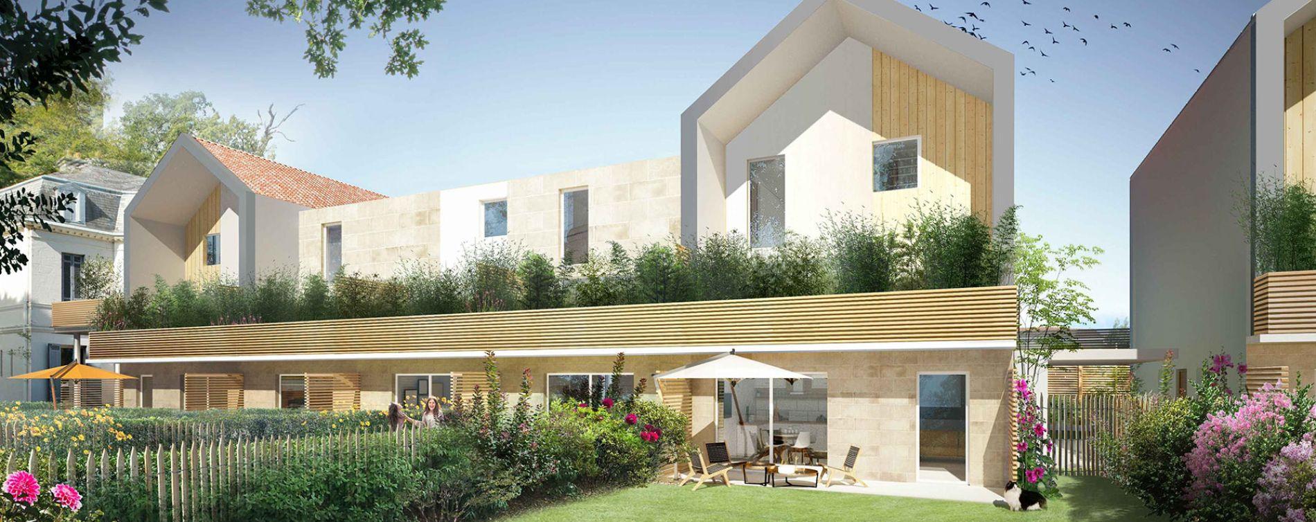 Pessac : programme immobilier neuve « Chartreuse François-Armand » en Loi Pinel (3)