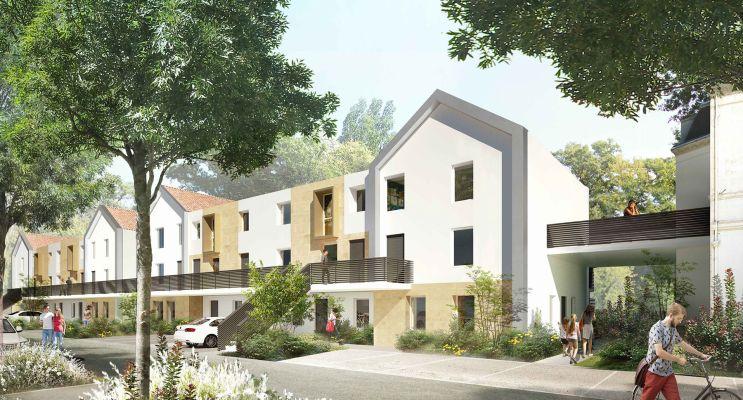 Pessac programme immobilier neuf « Chartreuse François-Armand » en Loi Pinel