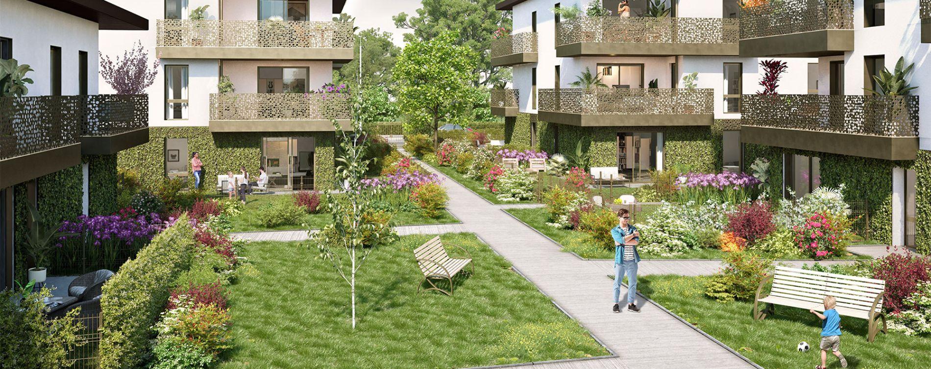 Pessac : programme immobilier neuve « La Réserve » en Loi Pinel
