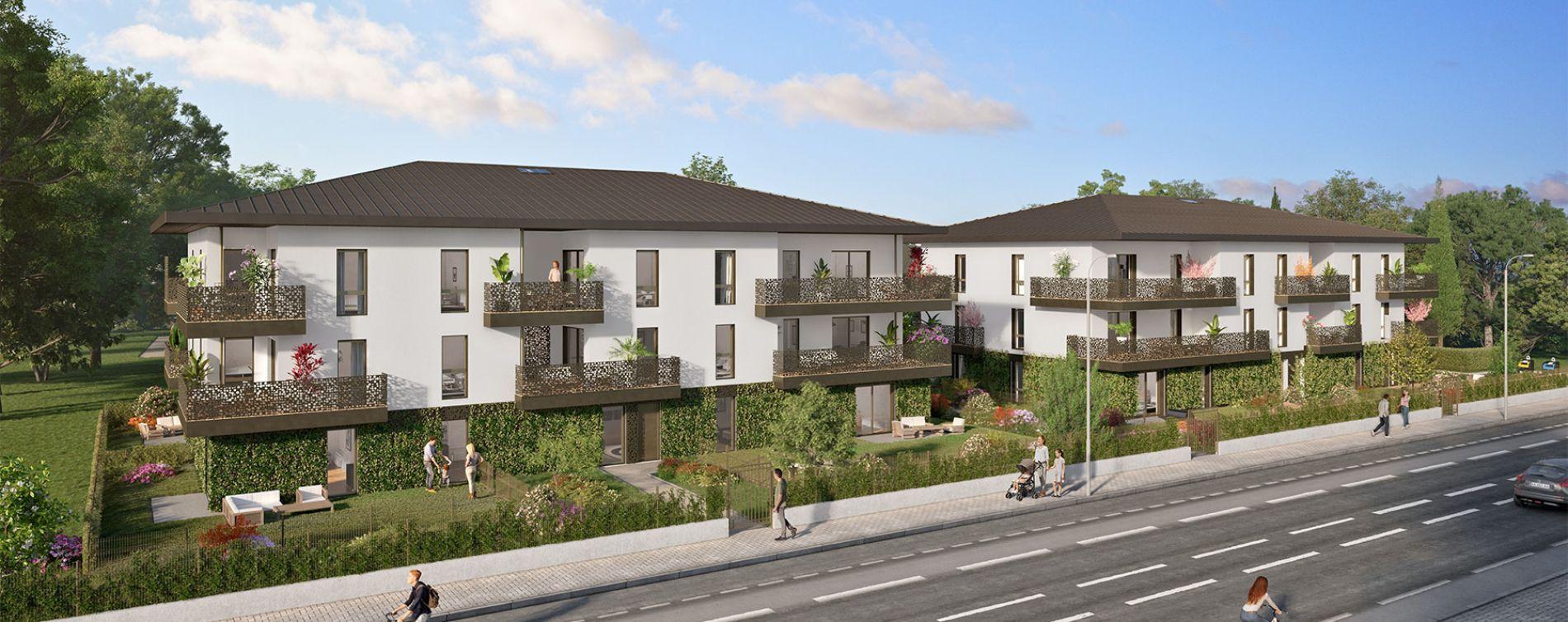 Pessac : programme immobilier neuve « La Réserve » en Loi Pinel (2)