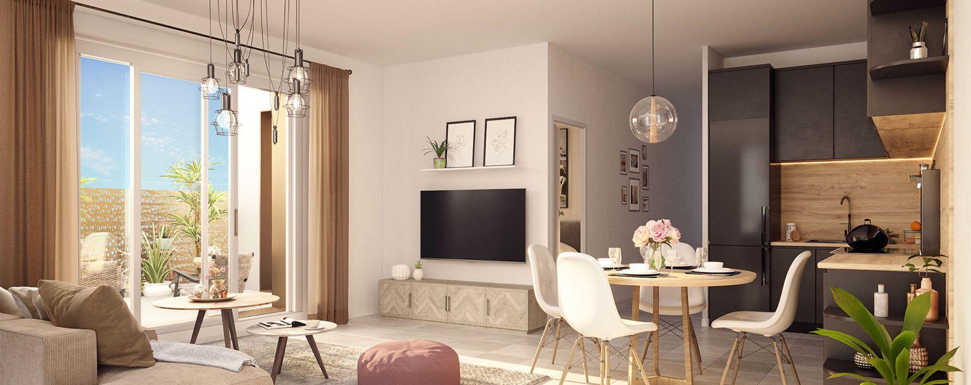 Pessac : programme immobilier neuve « La Réserve » en Loi Pinel (3)