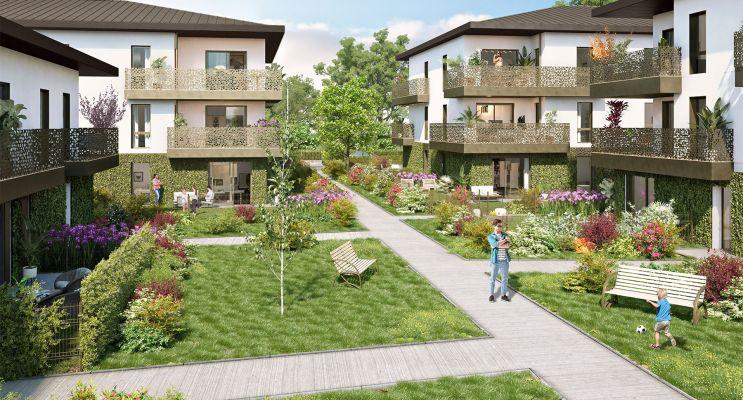 Pessac programme immobilier neuf « La Réserve » en Loi Pinel