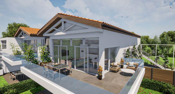 Pessac programme immobilier neuf « Le Parc du Châtelet » en Loi Pinel