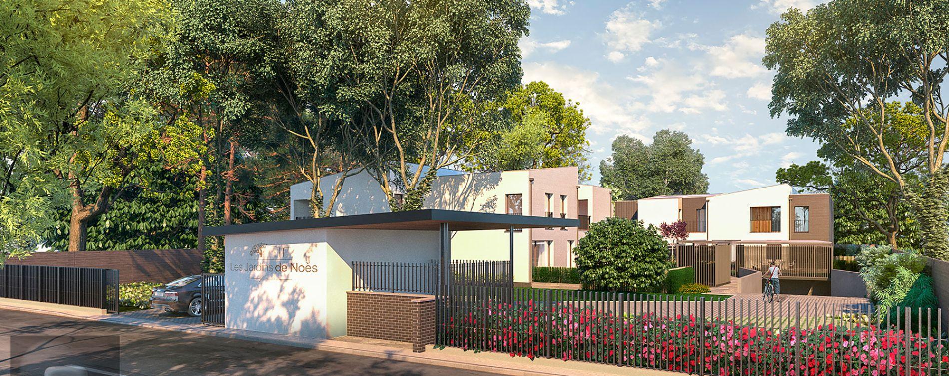 Pessac : programme immobilier neuve « Les Jardins de Noès » en Loi Pinel