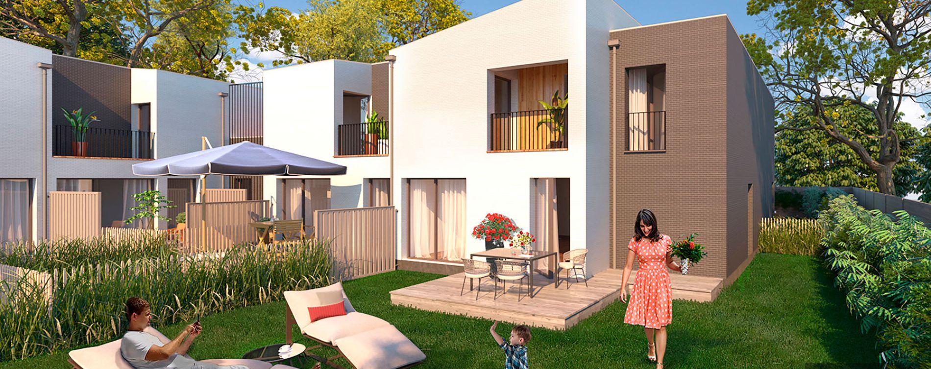 Pessac : programme immobilier neuve « Les Jardins de Noès » en Loi Pinel (4)