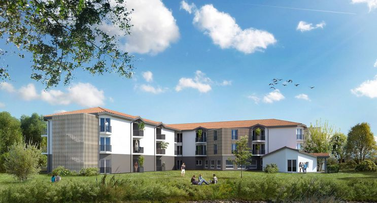 Pessac : programme immobilier à rénover « L'Ösen » en Loi Pinel ancien