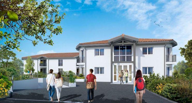 Photo n°2 du Résidence « L'Ösen » programme immobilier à rénover en Loi Pinel ancien à Pessac