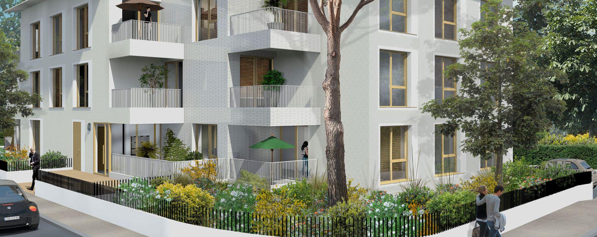 villa serena pessac programme immobilier neuf n 213721. Black Bedroom Furniture Sets. Home Design Ideas