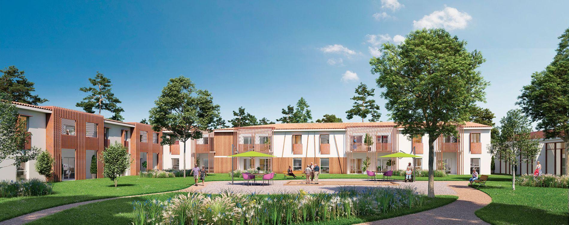 Résidence Domaine de Villepreux - La Résidence à Saint-Aubin-de-Médoc