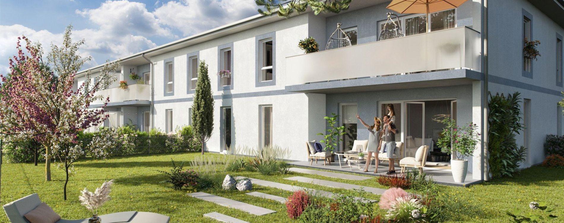 Saint-Jean-d'Illac : programme immobilier neuve « Euphoria »