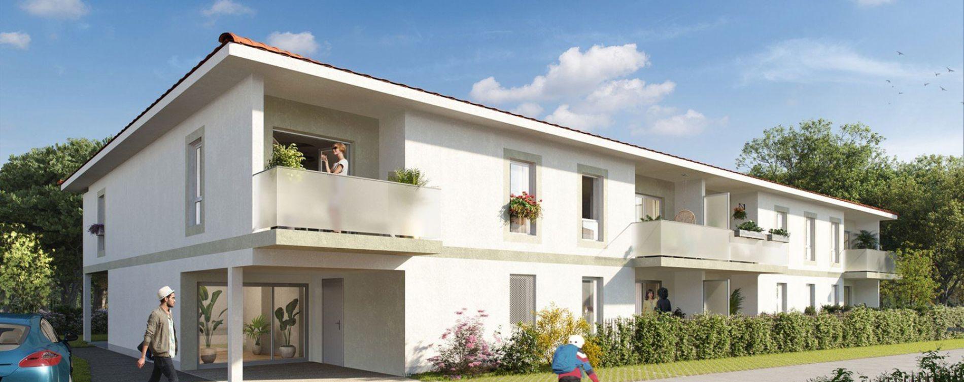 Saint-Jean-d'Illac : programme immobilier neuve « Euphoria » (2)