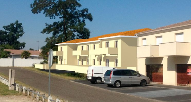 Résidence « Arruan » programme immobilier neuf en Loi Pinel à Saint-Médard-d'Eyrans