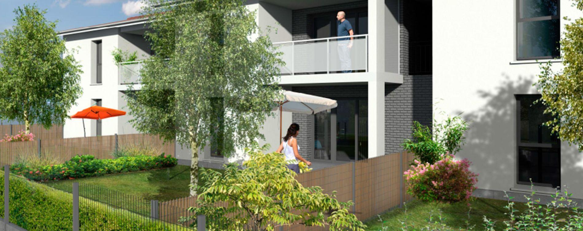Saint-Médard-d'Eyrans : programme immobilier neuve « Clos de Canterane »