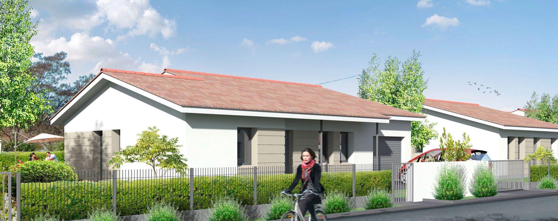 Saint-Médard-d'Eyrans : programme immobilier neuve « Clos de Canterane » (2)