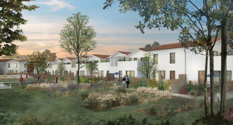 Saint-Médard-en-Jalles : programme immobilier neuf « Green Cottage » en Loi Pinel