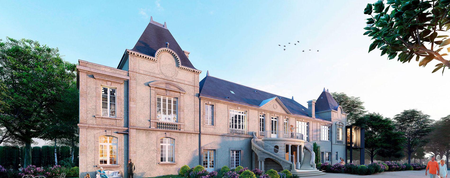 Sainte-Eulalie : programme immobilier neuve « Abbaye de Bonlieu »