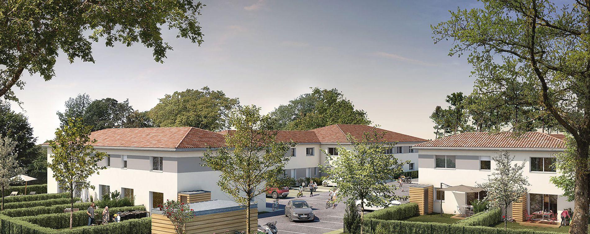 Sainte-Eulalie : programme immobilier neuve « Vista Vinia »
