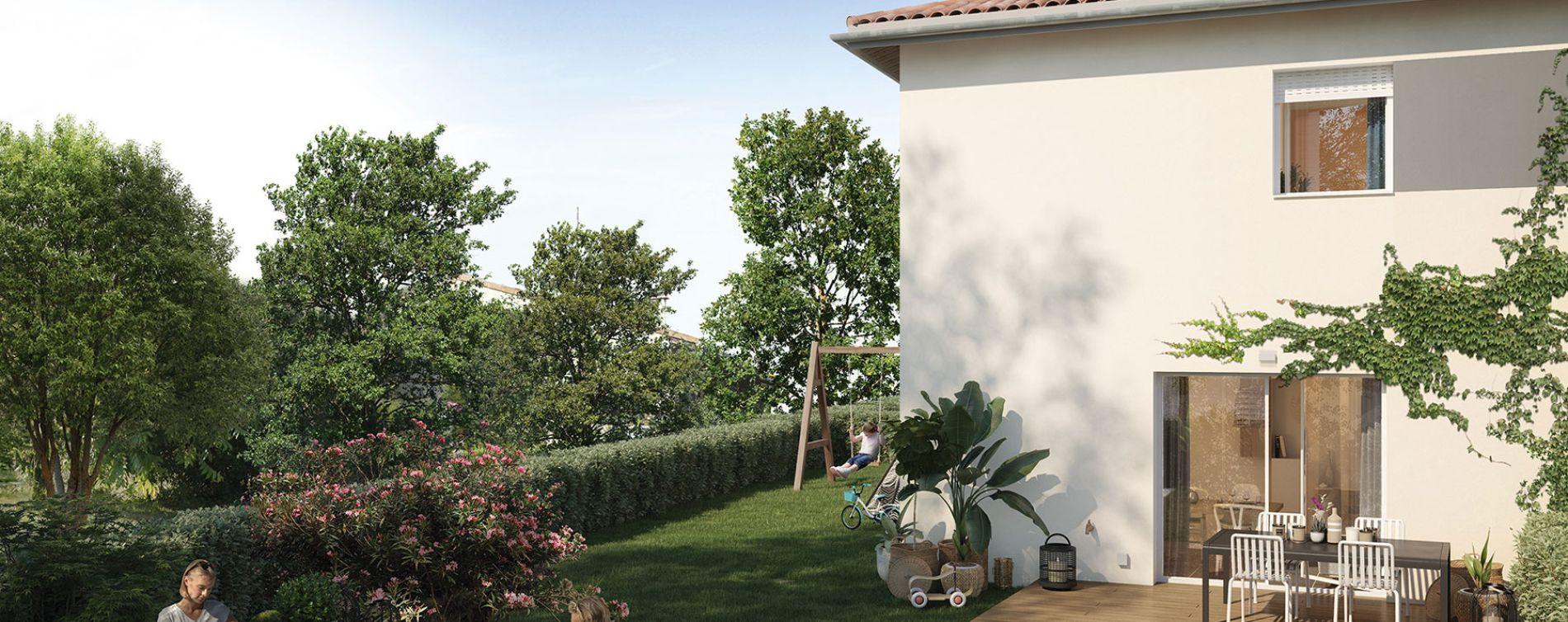 Sainte-Eulalie : programme immobilier neuve « Vista Vinia » (2)