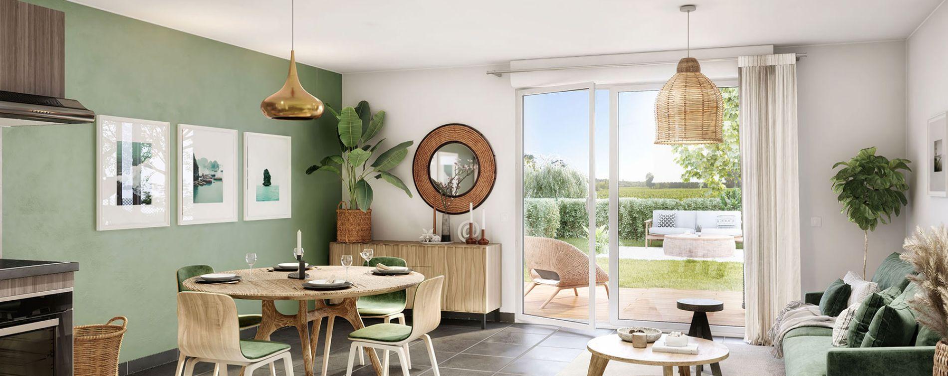 Sainte-Eulalie : programme immobilier neuve « Vista Vinia » (3)