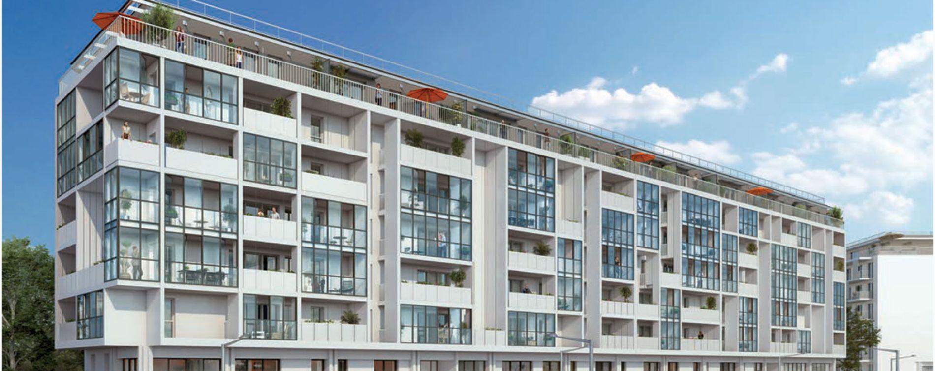 Talence : programme immobilier neuve « Iconic - Nue Propriété » en Nue Propriété