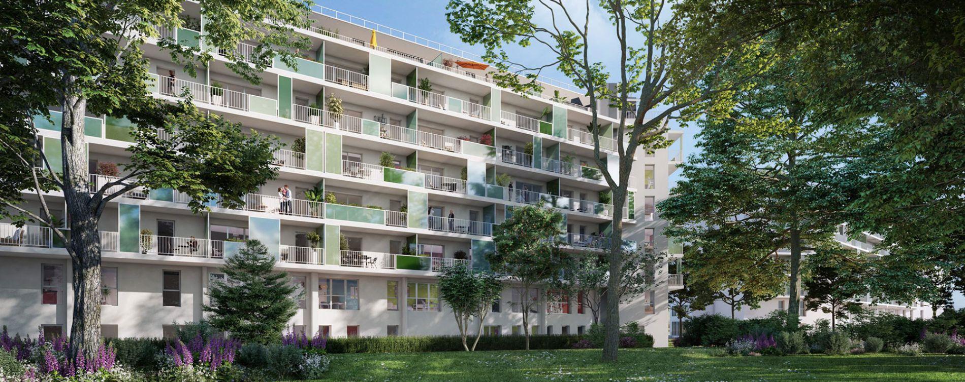Talence : programme immobilier neuve « Iconic » en Loi Pinel