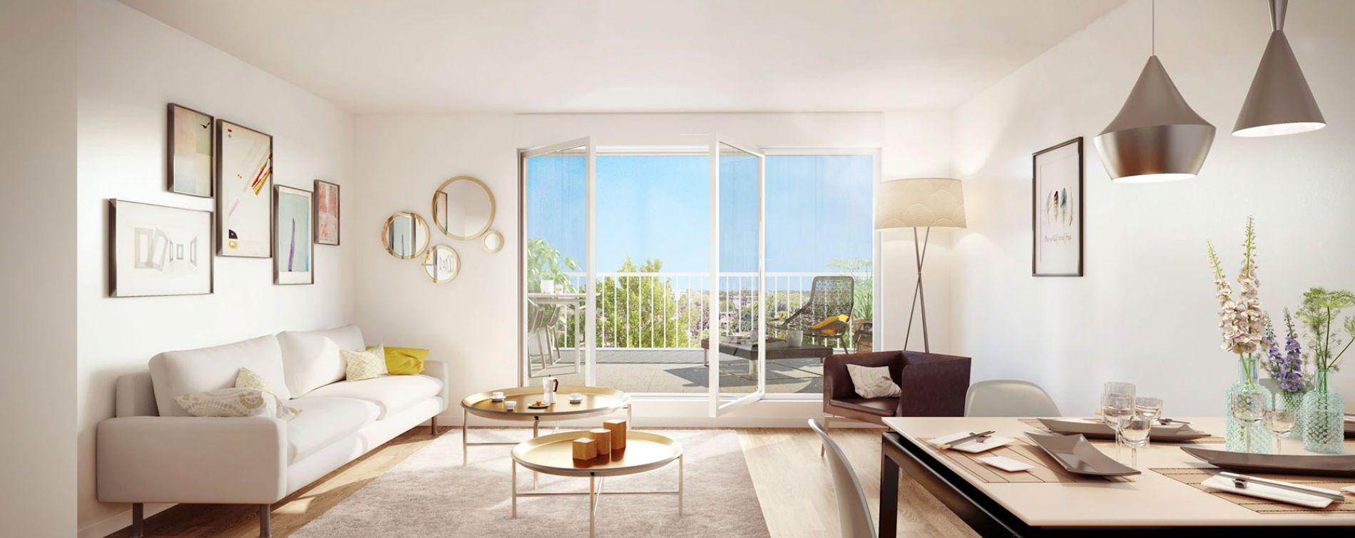 Talence : programme immobilier neuve « Iconic » en Loi Pinel (3)
